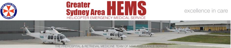 Greater Sydney Area HEMS | The Pre-hospital & Retrieval