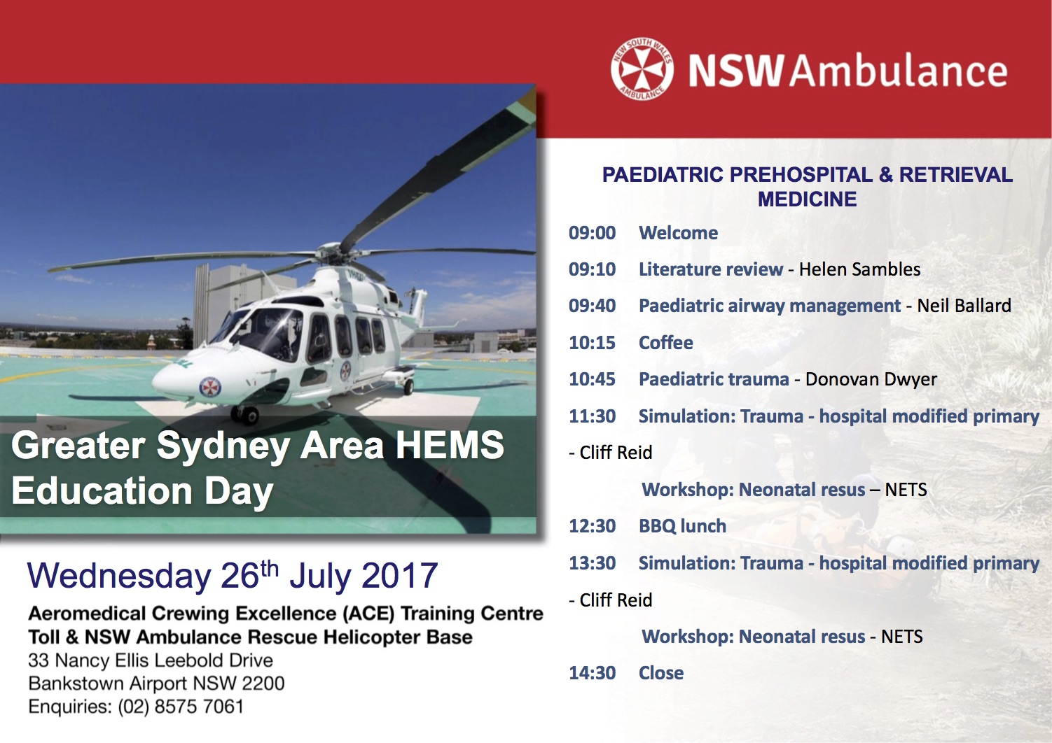 nsw ambulance clinical guideline paediatric sepsis