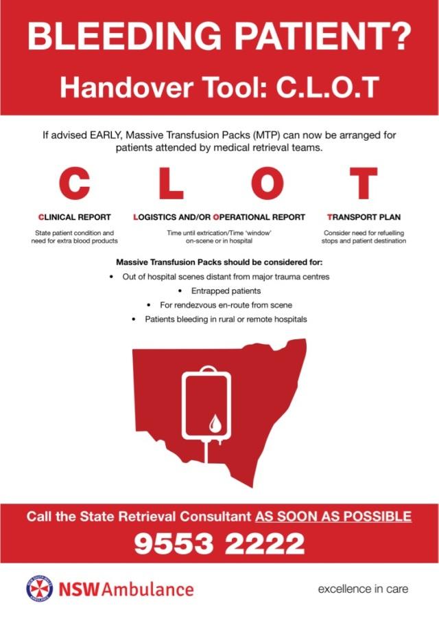 CLOT poster